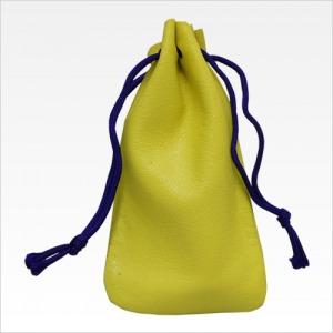 天丸用印鑑革袋 黄色
